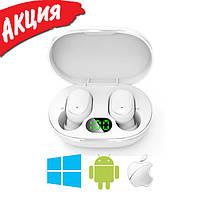 Беспроводные наушники Redmi AirDots Pro, Bluetooth гарнитура Xiaomi Mi, Вакуумные наушники для спорта, Белые