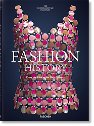 Книга Fashion History from the 18th to the 20th Century. Автор - Kyoto Costume Institute (Taschen) (English)