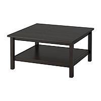Журнальный стол IKEA HEMNES Черно-коричневый стол столик журнальный чайный кофейный маленький