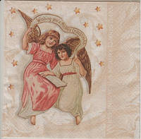 Салфетка для декупажа Ангелочки