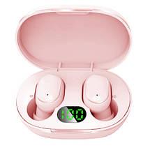 Беспроводные наушники Redmi AirDots Pro Bluetooth гарнитура Xiaomi Mi Вакуумные наушники для спорта Розовые, фото 3
