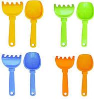 Набор,лопатка + грабли,цвета в ассортименте, фото 1