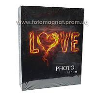 Фотоальбом (альбом для фотографий) LOVE 200/10Х15см.