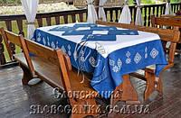 Скатерть и салфетки с вышивкой Златана