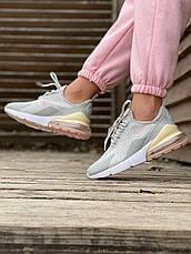 Женские кроссовки Nike Air Max 270 Grey Pink ALL05931, фото 2