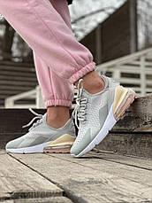 Женские кроссовки Nike Air Max 270 Grey Pink ALL05931, фото 3