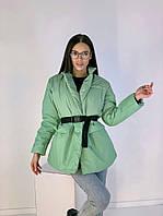 Женская стильная удлиненная жилетка на пуговицах, фото 1