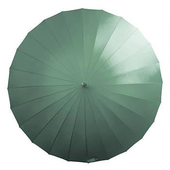 Механический зонт Lesko T-1001 Зеленый (4472-13231)