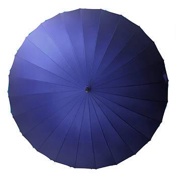 Зонт трость Lesko T-1001 Темно-синий (4472-13228)