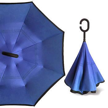 Умный зонт Up-Brella Тёмно-Синий (2907-13289)