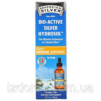 Sovereign Silver, Коллоидный биоактивный серебряный гидрозоль, капли для укрепления иммунитета 59 мл
