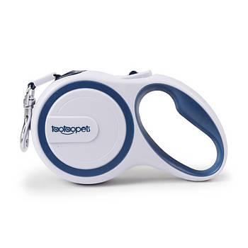 Автоматичний поводок-рулетка для собак Taotaopets 173320 довжина 5 m Blue (5306-17870)