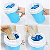 Лапомойка для домашних животных Pet 001 L Blue (5375-17903), фото 3