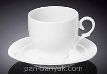 Чашка чайная с блюдцем Wilmax  220мл фарфор (993009 WL)