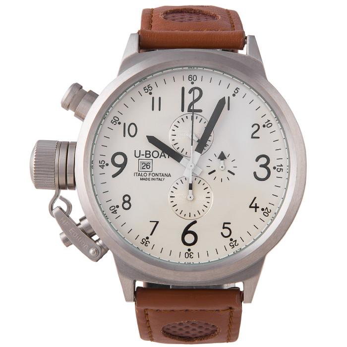 Часы мужские U-boat Italo Fontana White Brown