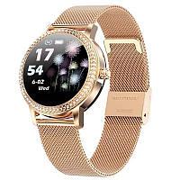Смарт часы Фитнес браслет LW20 женский с измерением давления и пульса