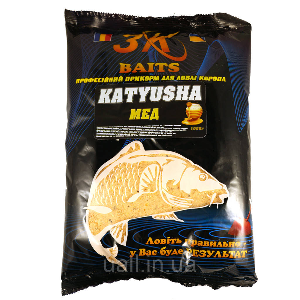 3K Baits KATYUSHA (MIERE) Мед 1000 г