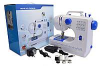 Портативная универсальная электрическая швейная машинка FHSM 506 7.2 Вт полуавтоматическое формирование петли