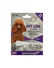 Капли на холку от блох, клещей и гельминтов Palladium Pet Line The One Палладиум для собак весом до 4 кг