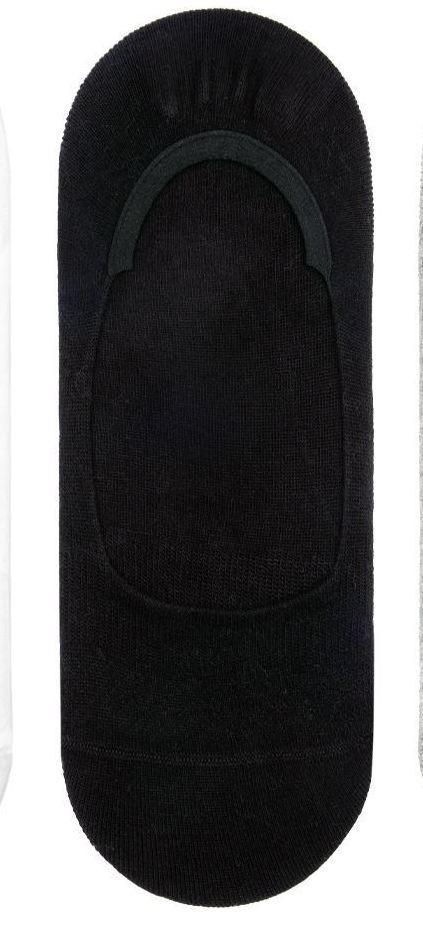 Носки женские следки бамбуковые Bross черные