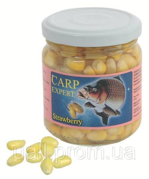 Кукурудза Carp Expert в сиропі 10-15 мм. 212 мл. Strawberry Полуниця