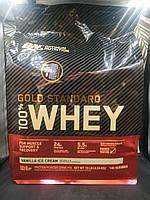 100% Whey Gold Standard Protein Optimum Nutrition 4.54 кг 4.5 протеин голд стандарт США
