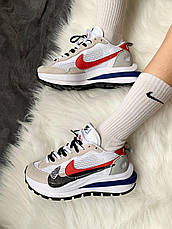 Чоловічі кросівки Nike Vaporwaffle sacai Sport Fuchsia Royal Game CV1363-100, фото 2