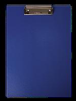 Планшет А5 BuroMax синий с зажимом PVC ВМ.3413-03