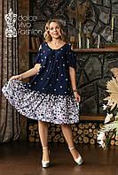 Жіноче плаття великі розміри 46-58, фото 1