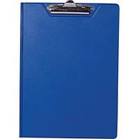 Папка-планшет А5 BuroMax PVC ВМ.3417-03 синий с зажимом PVC