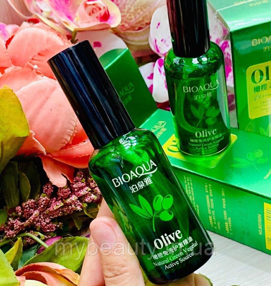 Масло для волосся з екстрактом оливи Bioaqua Olive Essential Oil (50мл)