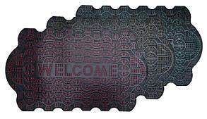 Коврик придверный 45*75 см Welcome MK808 (Волны)