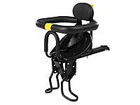 Велокресло детское с креплением на раму Feel Fit Черное