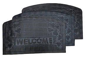 Коврик придверный 45*75 см Welcome MK804 (Листья)