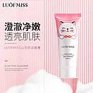 Пінка для вмивання обличчя Luofmiss Nicotinamide Goat Milk Cleanser з натуральним козячим молоком 100 g, фото 2