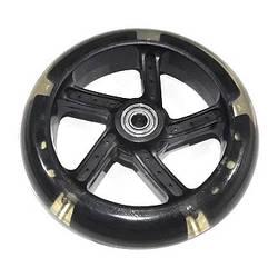 Колесо для самоката поліуретанове 140x30 мм з підшипниками світиться