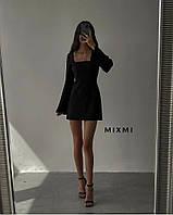 Женское нарядное платье с длинным рукавом, фото 1