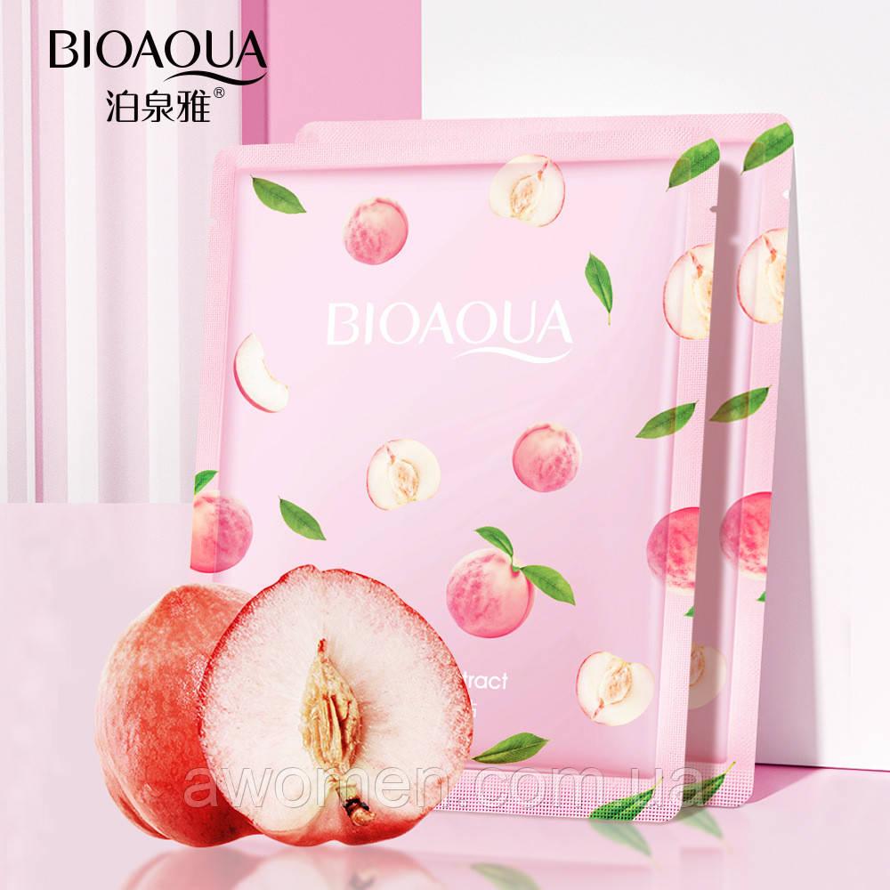 Маска для лица Bioaqua Peach Exstract Lactococcus Ferment 25 g