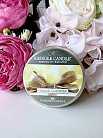Ароматическая свеча Kringle Candle Gold & Cashmere
