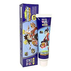 Дитяча зубна паста м'ята-шоколад Median Kid's toothpaste Beyblade Choco Mint flavor Toothpaste