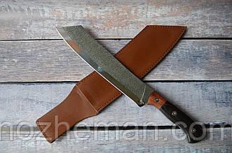Нож мачете Слай 3, весьма серьёзный инструмент для вырубки тростника, ветвей и настоящих бревен