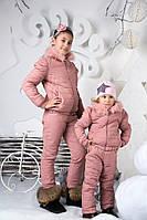 Е2828  Детский зимний костюм-трансформер подросток