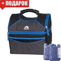 Сумка-холодильник Igloo PM GRIPPER 16, синяя (термосумка для обеда, изотермическая сумка), фото 1