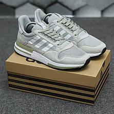 Чоловічі кросівки Adidas ZX500 RM Grey ALL05956, фото 2