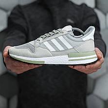 Чоловічі кросівки Adidas ZX500 RM Grey ALL05956, фото 3