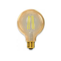Филаментная світлодіодна лампа Luxel 078-HG 8W G95 E27 2500K (078-HG) Gold