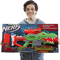 Бластер Hasbro NERF DinoSquad Rex-Rampage Нерф Диносквайд Динозавр Рекс Рэмпейдж F0807