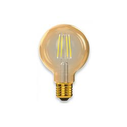 Филаментная світлодіодна лампа Luxel 077-HG 5W G80 E27 2500K (077-HG) Gold