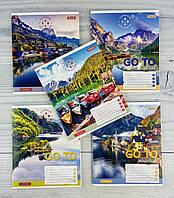 Тетрадь 60 листов клетка Go to Adventure-20 №764959 30750Ф 1 вересня Украина