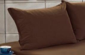 Наволочка бязь 60х60 - Шоколадне однотонне світле